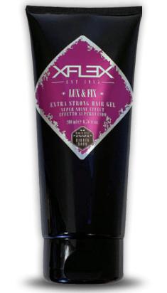 "<b>XFLEX Lux & Fix</b><br><p style=""font-size:0.7em"">Extraerős zselé</p>"