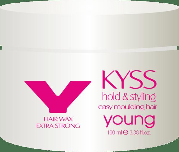 "<b>Kyss wax</b><br><p style=""font-size:0.7em"">Extra erős hajwax</p>"