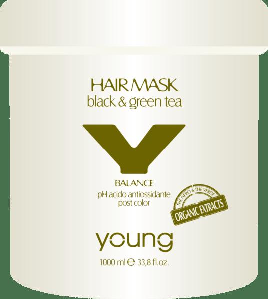 """<b>Balance hajpakolás</b><br><p style=""""font-size:0.7em"""">Fekete & zöld teával</p>"""